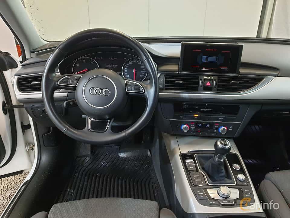 Interior of Audi A6 Avant 2.0 TDI ultra Manual, 190ps, 2017