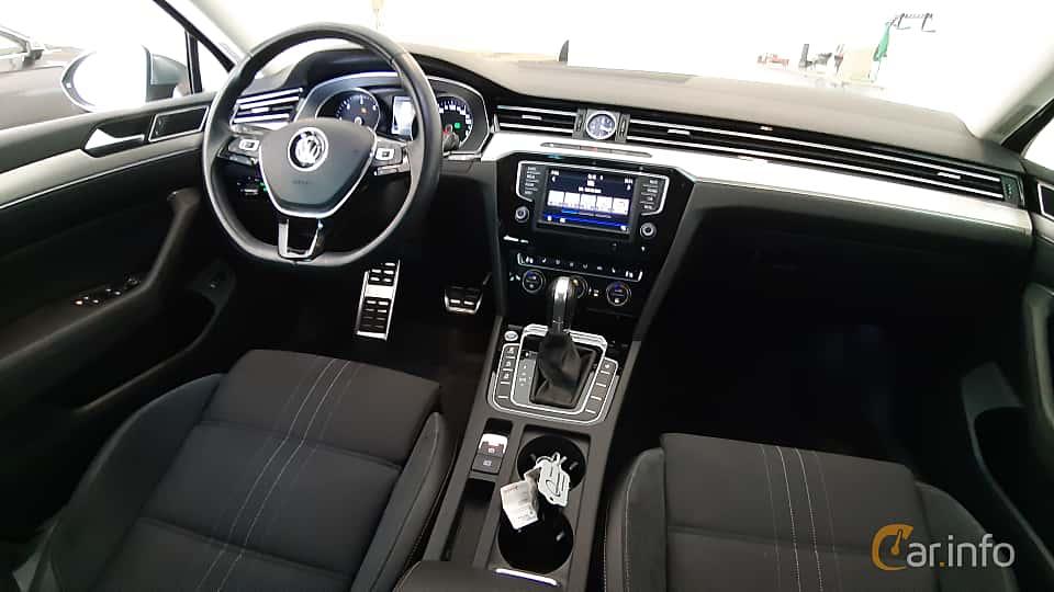 Interior of Volkswagen Passat Alltrack 2.0 TDI SCR BlueMotion 4Motion DSG Sequential, 190ps, 2017