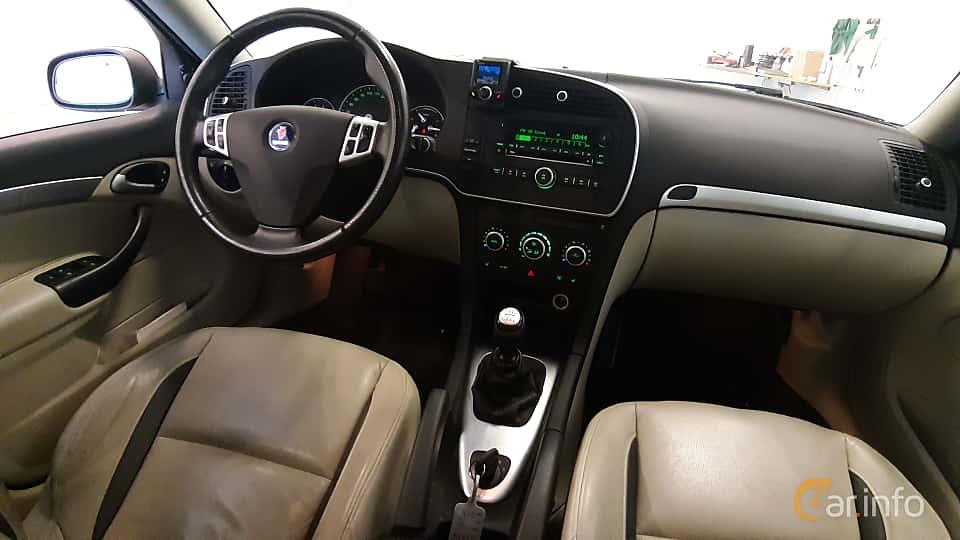 Interior of Saab 9-3 SportCombi 2.0t BioPower  Manual, 175ps, 2009