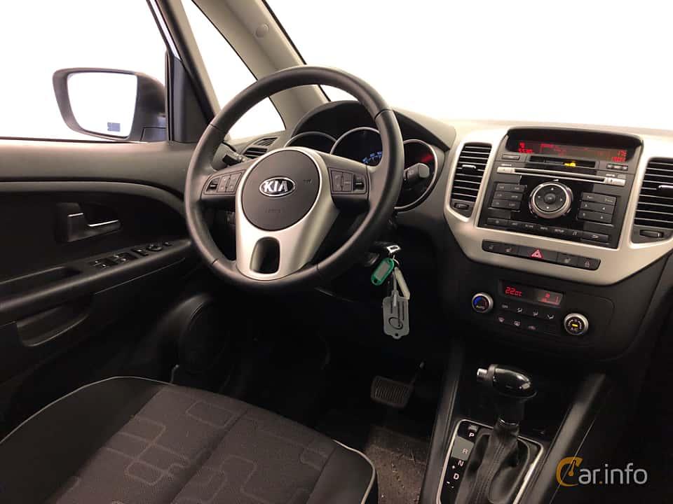 Interior of Kia Venga 1.6 CVVT Automatic, 125ps, 2016
