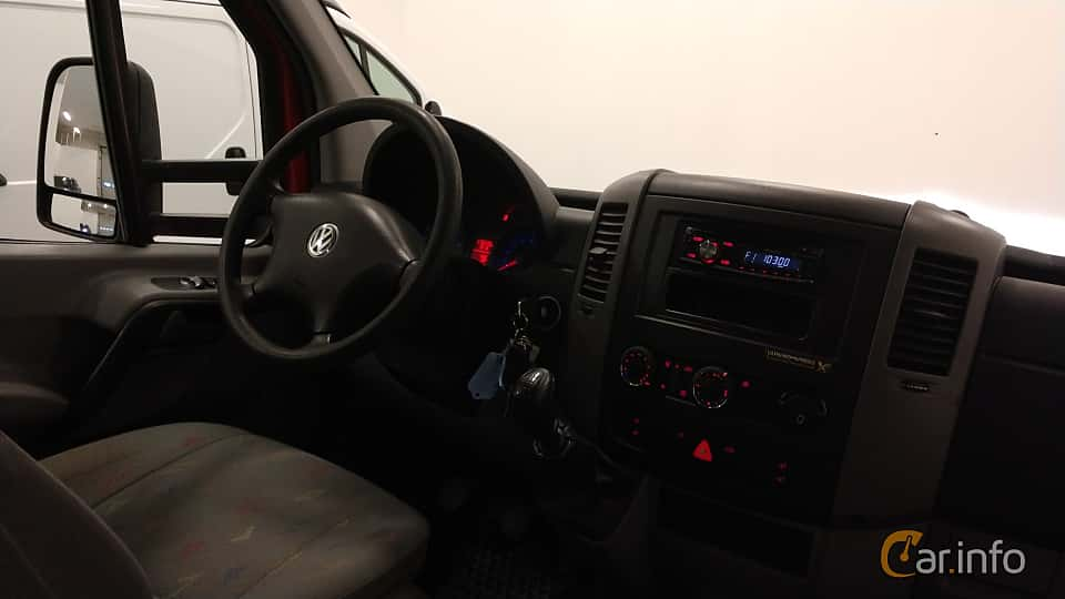 Interior of Volkswagen Crafter Chassi Double Cab 2.5 TDI Manual, 109ps, 2009