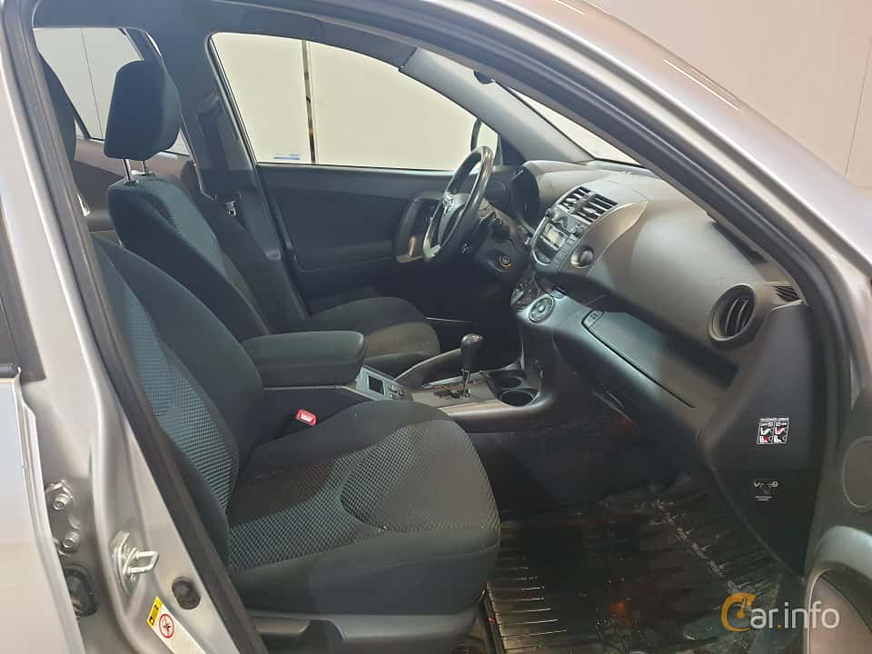 Interior of Toyota RAV4 2.2 D-4D 4x4 Automatic, 150ps, 2011