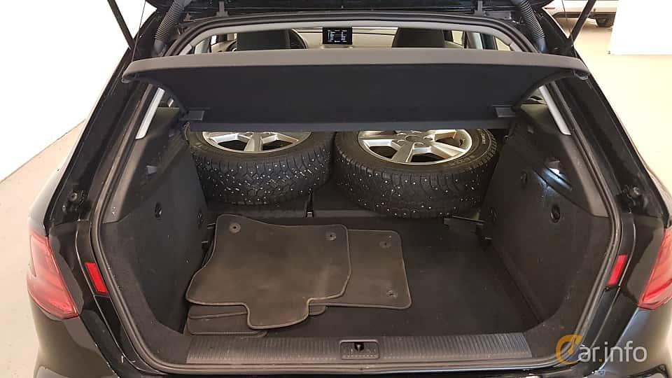 Interior of Audi A3 Sportback 1.2 TFSI Manual, 110ps, 2016