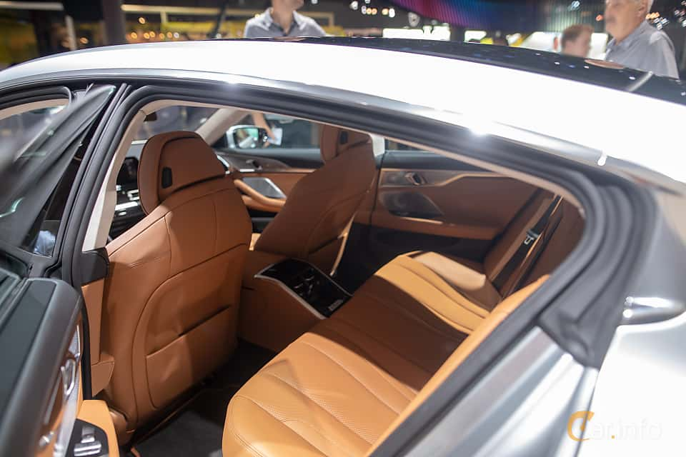 Interior of BMW M850i xDrive Gran Coupe  Steptronic, 530ps, 2020 at IAA 2019