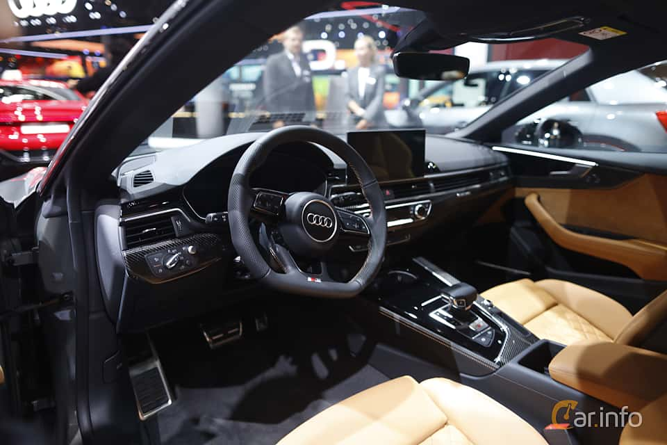 Interior of Audi S5 TDI Coupé 3.0 TDI quattro TipTronic, 347ps, 2020 at IAA 2019