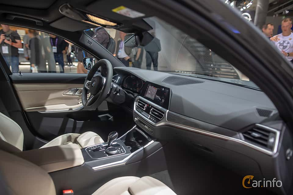 Interior of BMW 330d xDrive Touring  Steptronic, 265ps, 2020 at IAA 2019