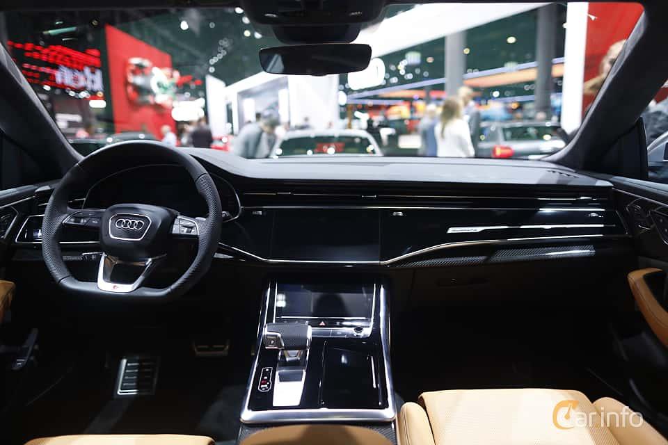 Interior of Audi SQ8 TDI  TipTronic, 435ps, 2020 at IAA 2019