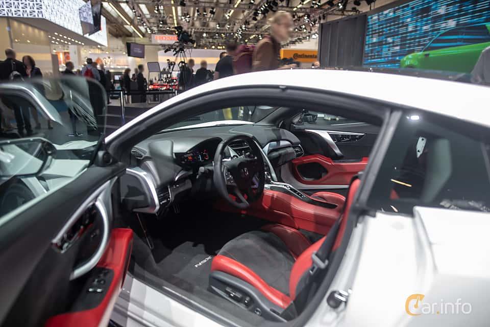 Interior of Honda NSX 3.5 V6 SH-AWD DCT, 581ps, 2020 at IAA 2019