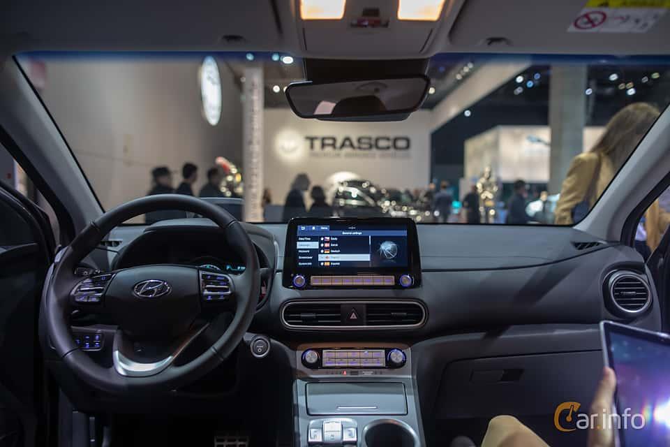 Interior of Hyundai Kona Electric 64 kWh Single Speed, 204ps, 2020 at IAA 2019