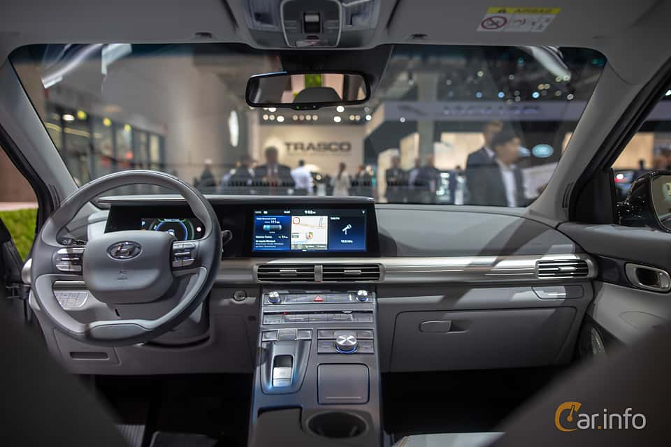 Interior of Hyundai Nexo FuelCell Single Speed, 163ps, 2020 at IAA 2019