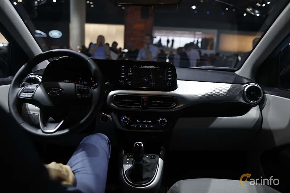 Interior of Hyundai i10 1.2 AMT, 84ps, 2020 at IAA 2019