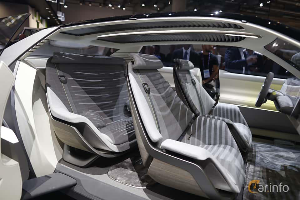 Interior of Hyundai 45 EV Concept Concept, 2020 at IAA 2019