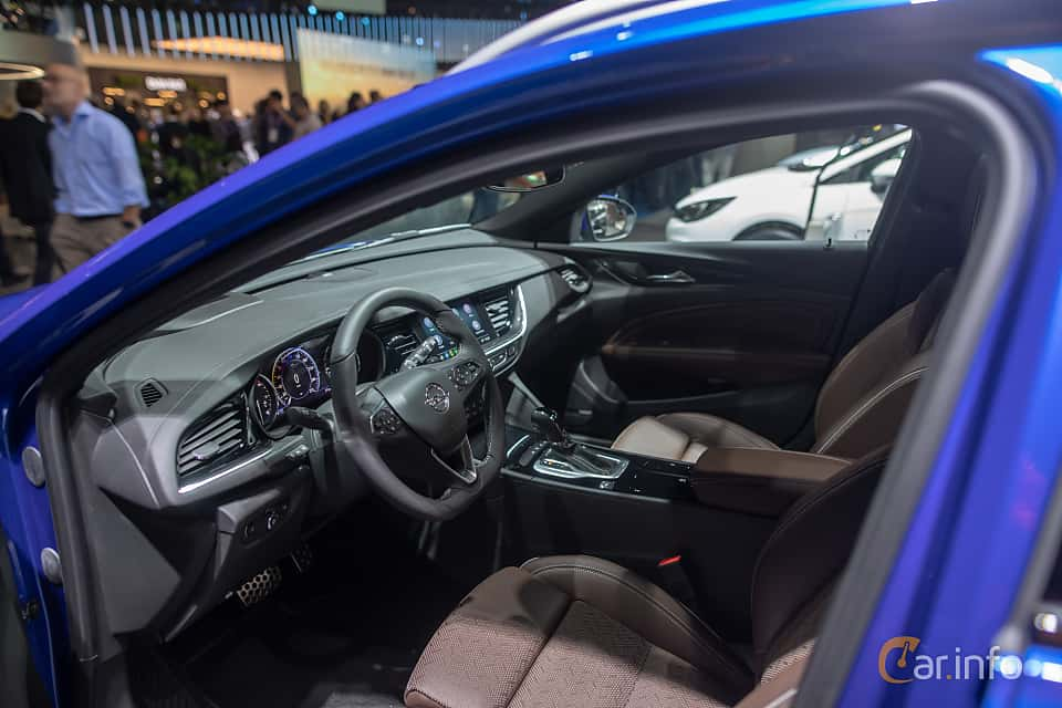 Interior of Opel Insignia Sports Tourer 1.5 Turbo Automatic, 165ps, 2020 at IAA 2019