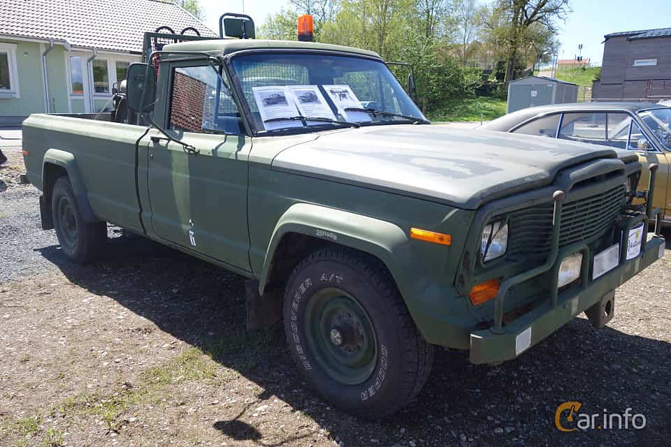 4 images of Jeep J20 5 9 V8 4WD Automatic, 177hp, 1981 by