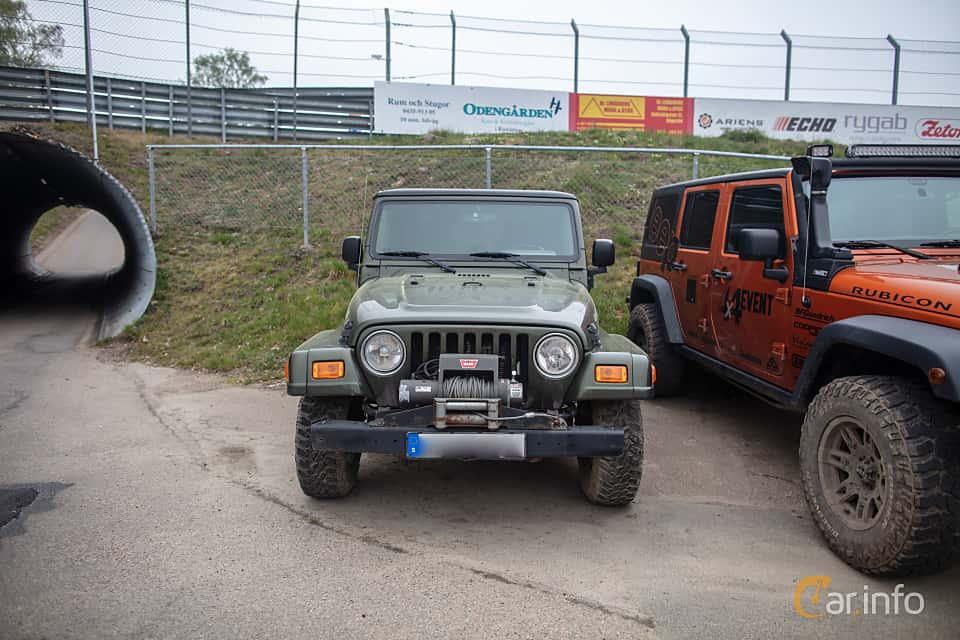 Fram av Jeep Wrangler 4.0 V6 4WD Automatic, 177ps, 2006 på Lucys motorfest 2019