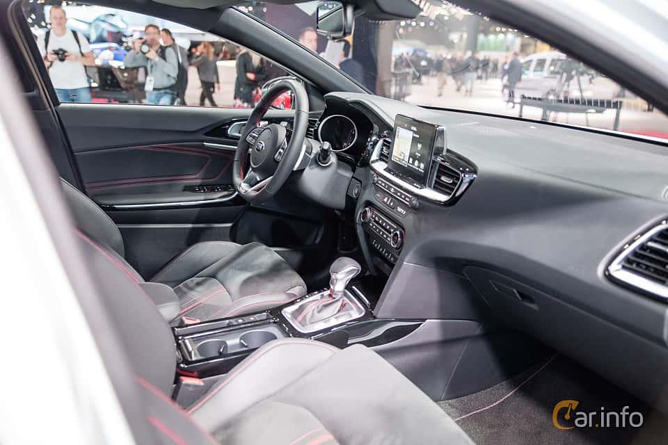 Interior of Kia Ceed GT 1.6 T-GDI DCT, 204ps, 2019 at Paris Motor Show 2018