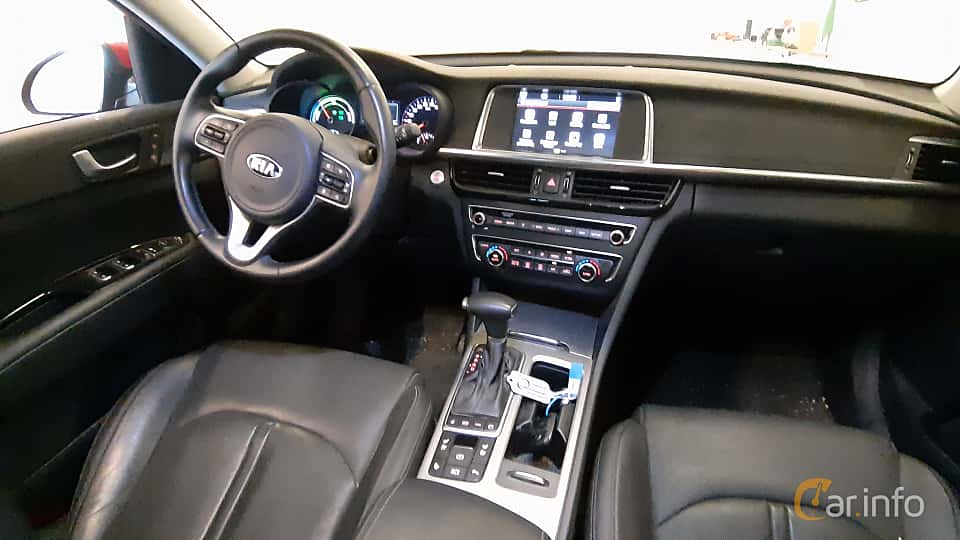 Interior of Kia Optima Sport Wagon Hybrid P-HEV 2.0 Hybrid Automatic, 205ps, 2018