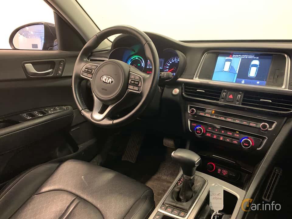 Interior of Kia Optima Sport Wagon Hybrid P-HEV 2.0 Hybrid Automatic, 205ps, 2018