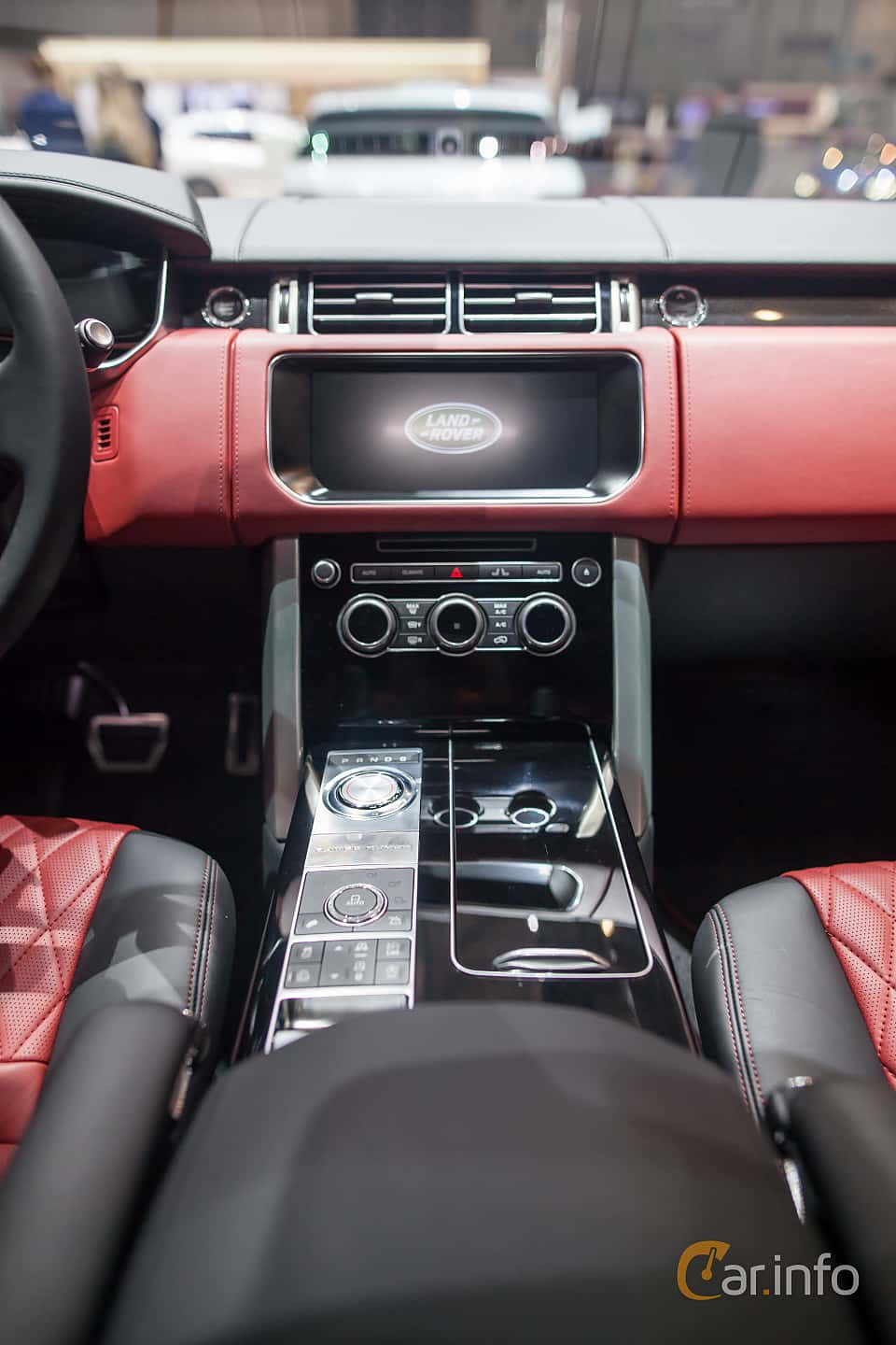 Interior of Land Rover Range Rover 5.0 V8 4WD Automatic, 550ps, 2017 at Geneva Motor Show 2017