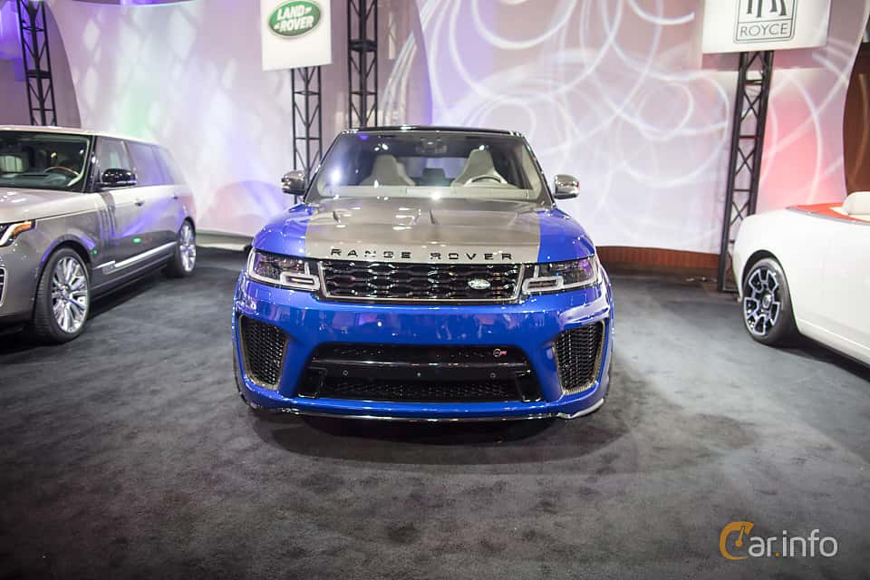 Land Rover Range Rover Sport SVR 5.0 V8 4WD Automatic, 575hp, 2018