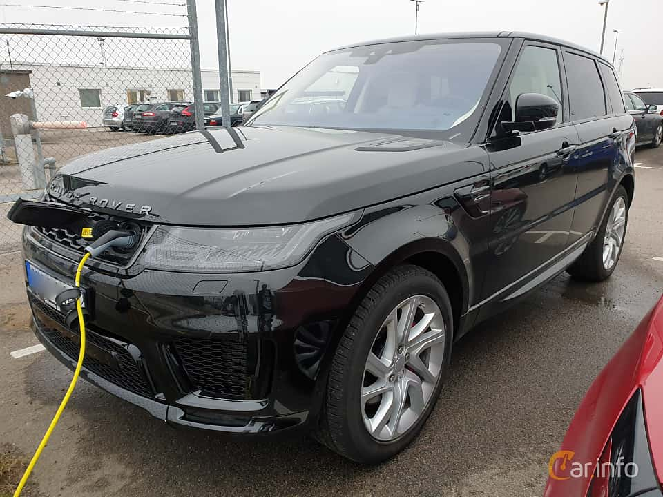 Front/Side of Land Rover Range Rover Sport P400e 2.0 + 13.1 kWh 4WD Automatic, 404ps, 2019