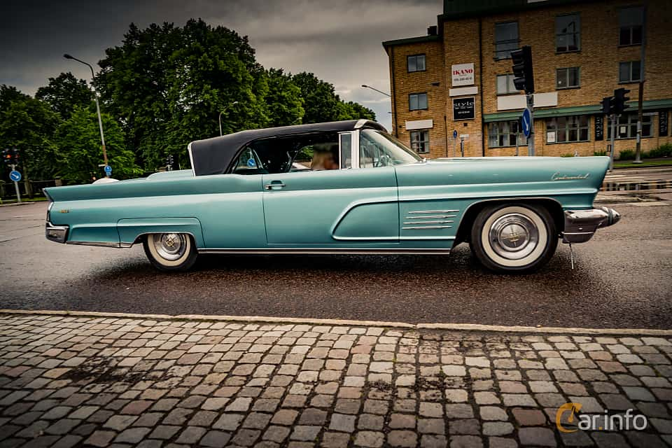 images of a lincoln continental convertible 7 0 v8 automatic 375hp 1960. Black Bedroom Furniture Sets. Home Design Ideas