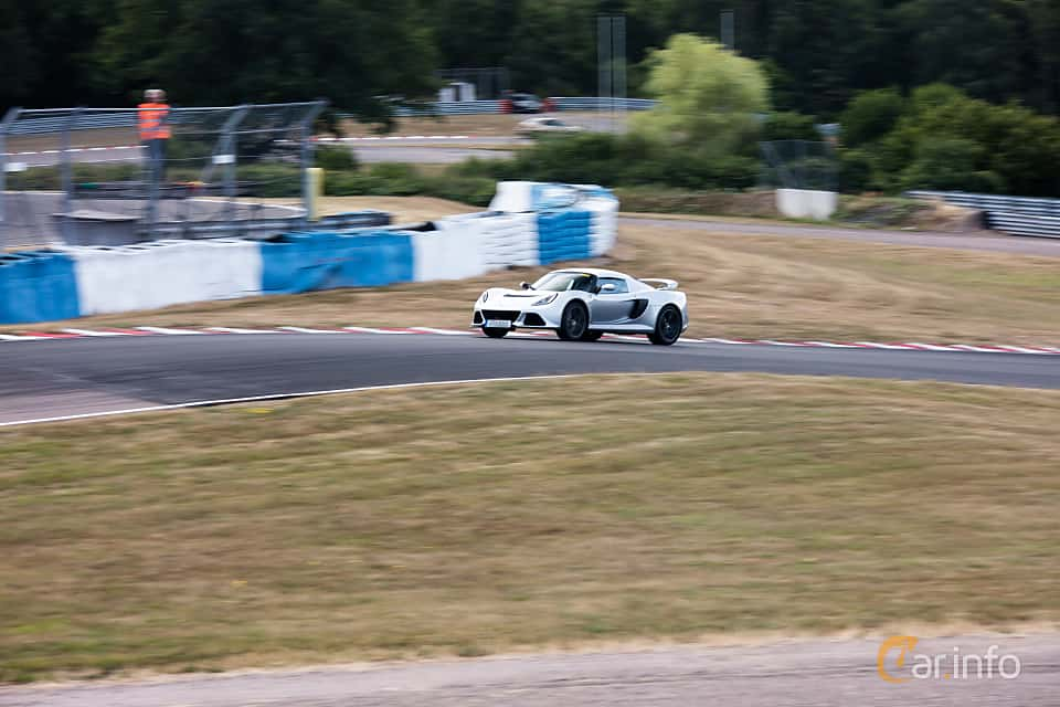 Front/Side  of Lotus Exige S 3.5 V6 VVT-i Manual, 350ps, 2014 at JapTuning Trackday 2018 Knutstorp