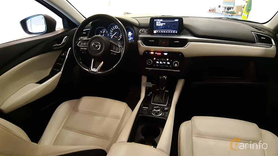 Interior of Mazda 6 Wagon 2.2 SKYACTIV-D AWD Automatic, 175ps, 2016