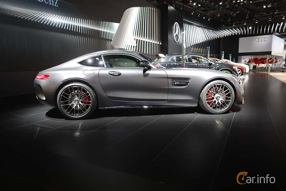 Sida av Mercedes-Benz AMG GT C 4.0 V8 AMG Speedshift DCT, 557ps, 2018 på North American International Auto Show 2017
