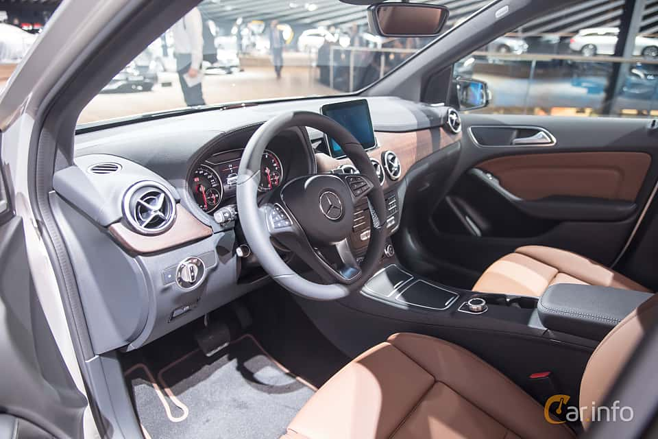 Interior of Mercedes-Benz B 200  7G-DCT, 156ps, 2018 at IAA 2017