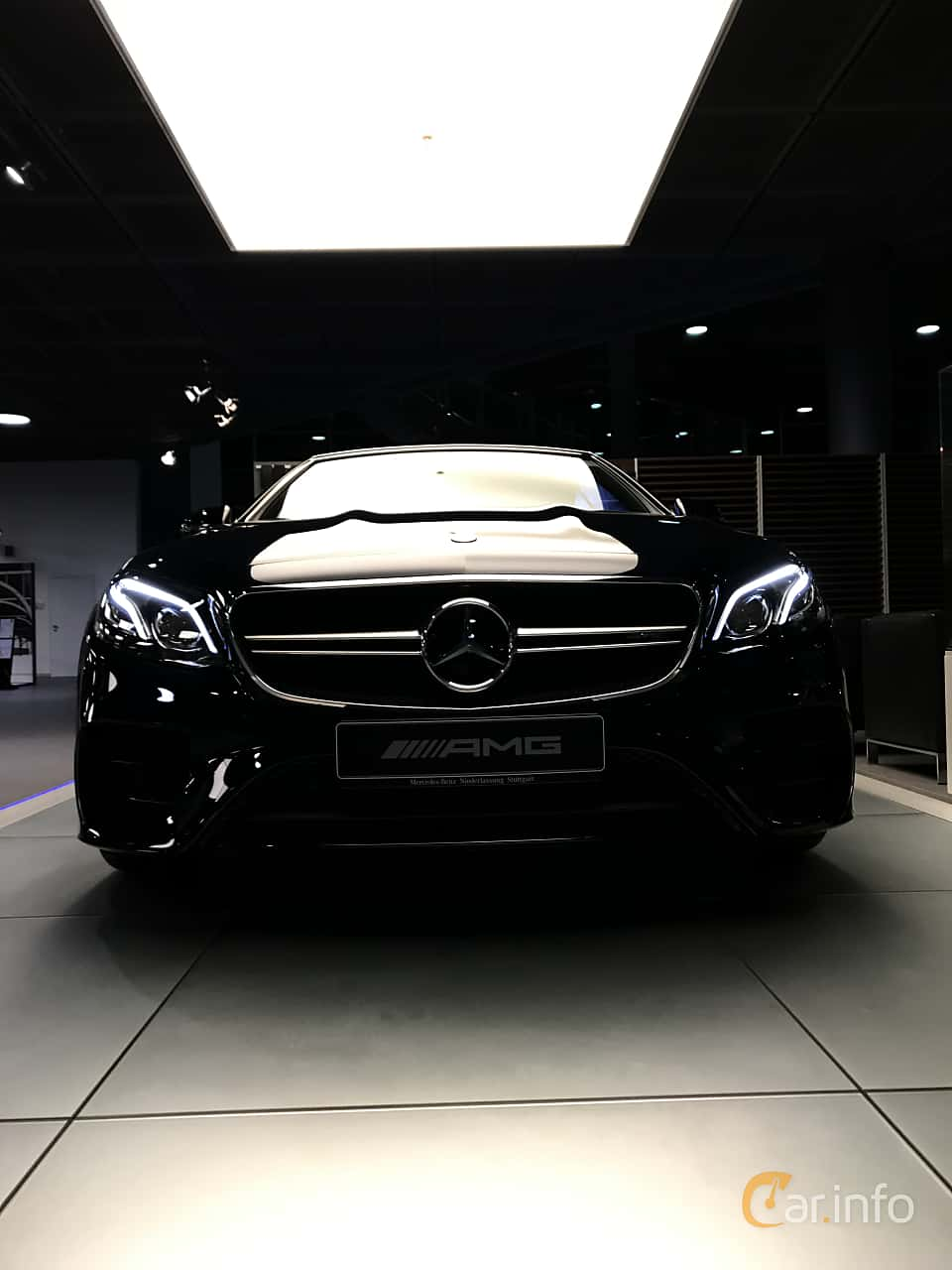 Front  of Mercedes-Benz AMG E 53 4MATIC+ Cabriolet  , 435ps, 2019