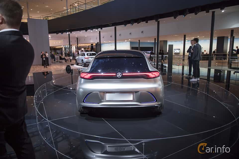 Back of Mercedes-Benz EQA Concept Concept, 2017 at IAA 2017