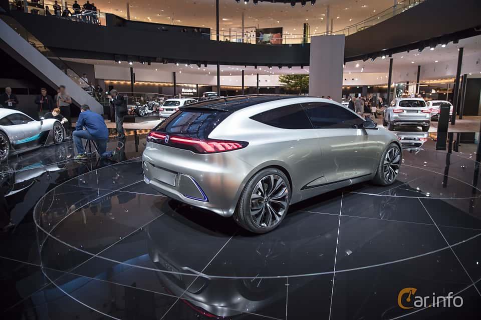 Back/Side of Mercedes-Benz EQA Concept Concept, 2017 at IAA 2017