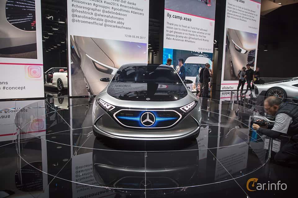Front  of Mercedes-Benz EQA Concept Concept, 2017 at IAA 2017