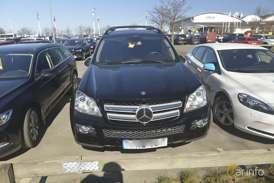 Fram av Mercedes-Benz GL 500 4MATIC  7G-Tronic, 388ps, 2007