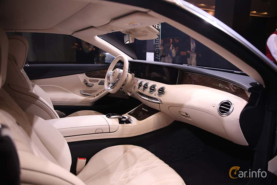 Interior of Mercedes-Benz S 560 Cabriolet  9G-Tronic, 469ps, 2018 at IAA 2017