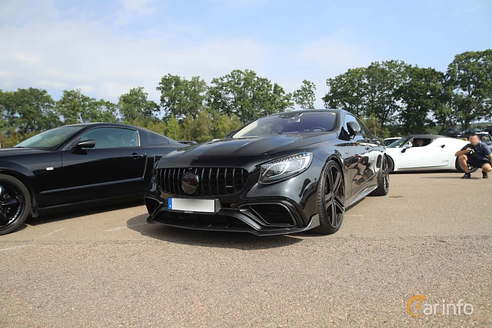 Front/Side  of Mercedes-Benz AMG S 63 4MATIC+ Coupé  , 612ps, 2018 at Autoropa Racing day Knutstorp 2019