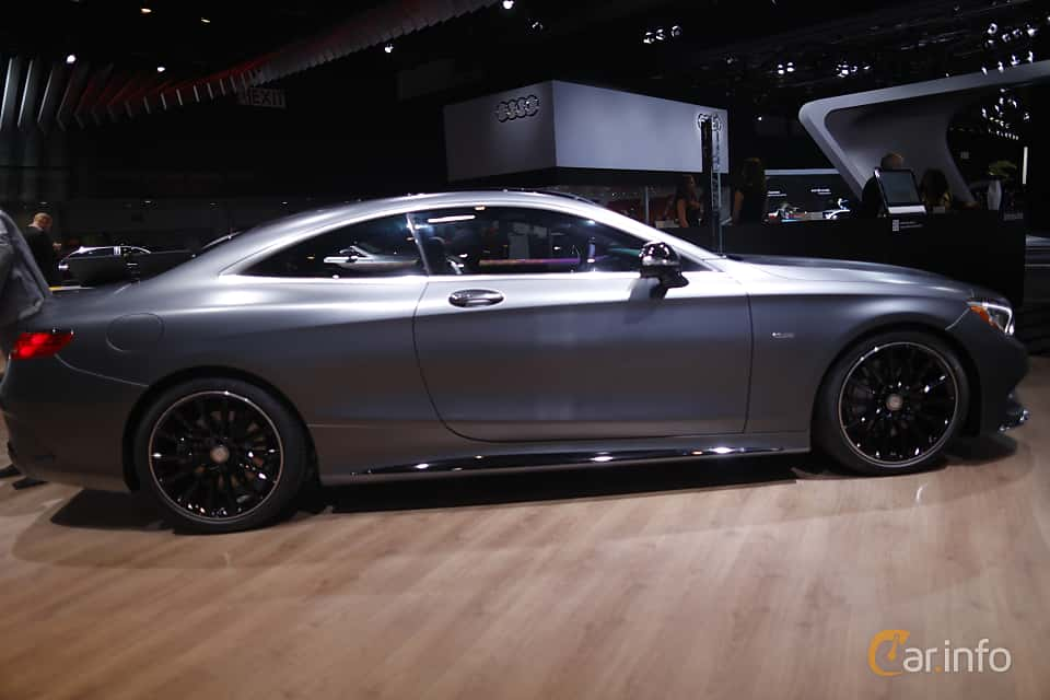 Sida av Mercedes-Benz S 500 4MATIC Coupé 4.6 V8 4MATIC 7G-Tronic Plus, 455ps, 2017 på North American International Auto Show 2017