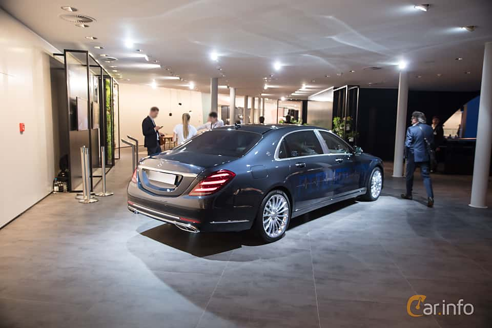 Back/Side of Mercedes-Benz S-Class Maybach 2018 at IAA 2017