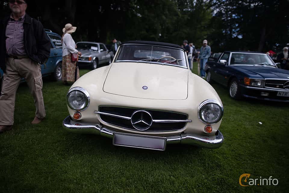 4 images of Mercedes Benz 190 SL Coupé Manual, 105hp, 1957
