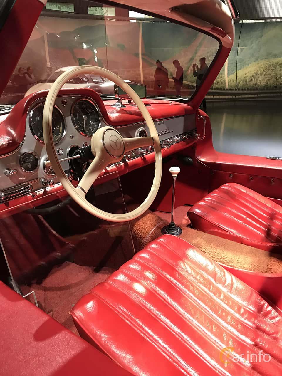 Interior of Mercedes-Benz 300 SL  Manual, 215ps, 1955