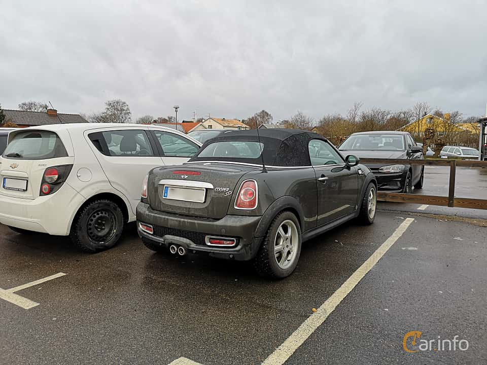 Back/Side of MINI Cooper SD Roadster  Automatic, 143ps, 2012