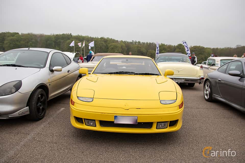Front  of Mitsubishi GTO 3.0 V6 Automatic, 280ps, 1991 at Lucys motorfest 2019