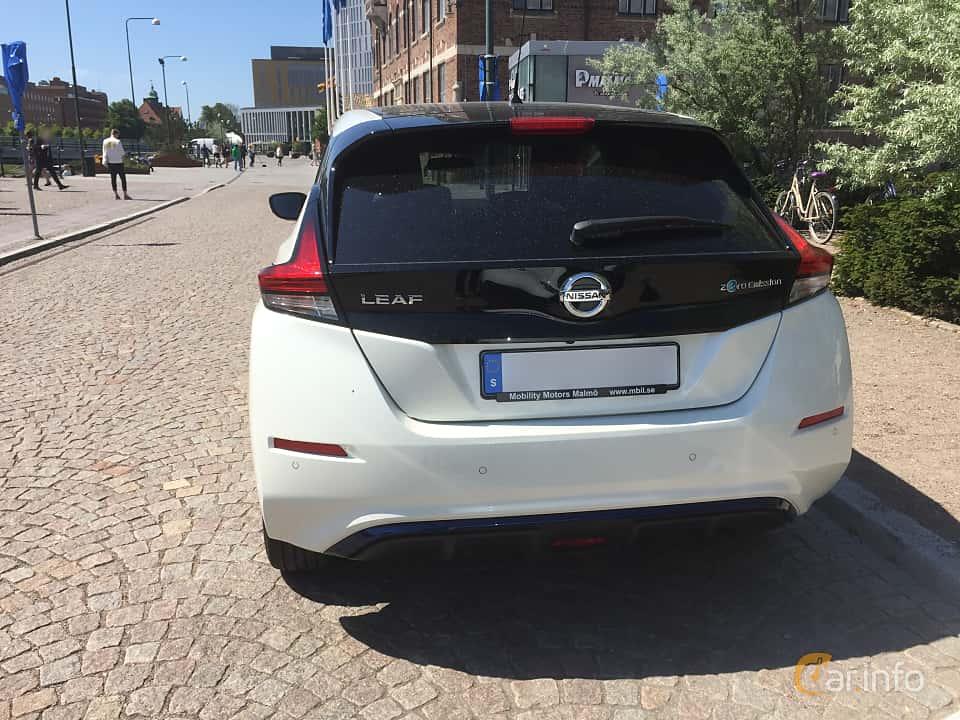 Bak av Nissan Leaf 40 kWh Single Speed, 149ps, 2018