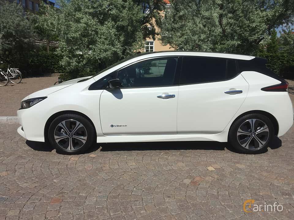 Sida av Nissan Leaf 40 kWh Single Speed, 149ps, 2018