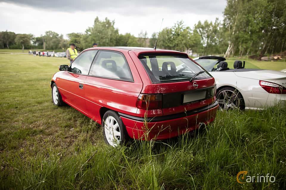 Opel Astra 3-door 1.8 Manual 116hp 1995 & Opel Astra 3-door Pezcame.Com