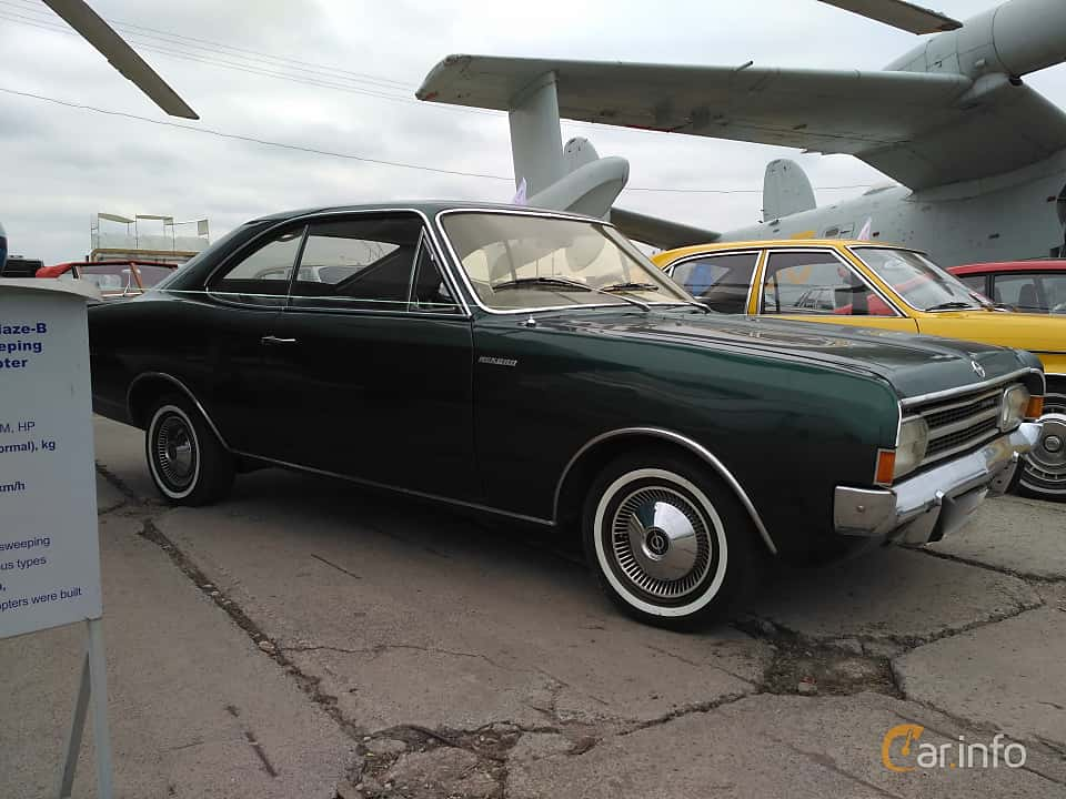 5 images of Opel Rekord Coupé 1.9 S Manual, 90hp, 1969 by PavelYakovenko