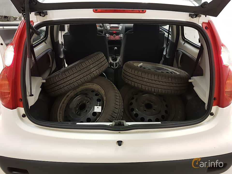 Interior of Peugeot 107 5-door 1.0 Manual, 68ps, 2010
