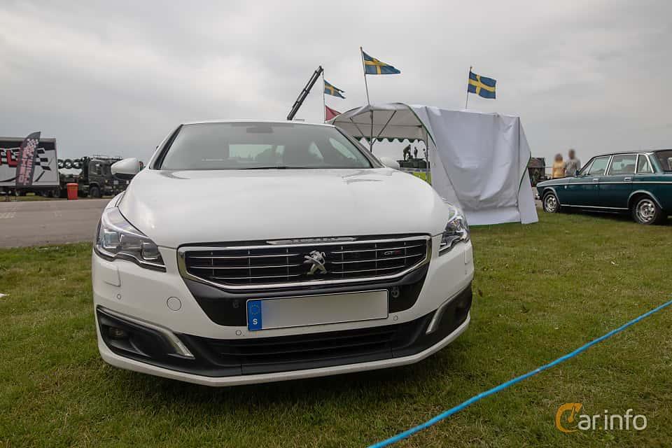 Fram av Peugeot 508 2.0 BlueHDi EAT, 180ps, 2016 på Vallåkraträffen 2019