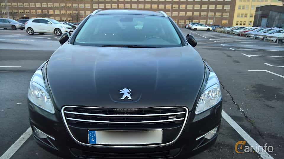 Front  of Peugeot 508 SW 1.6 e-HDi FAP EGS, 114ps, 2013